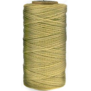 Waxed Polyester Thread, Natural, 247m