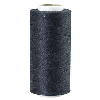 Waxed Polyester Thread, Fine, Black, 544m
