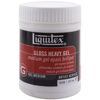 Gel Medium, Gloss Heavy, 237ml
