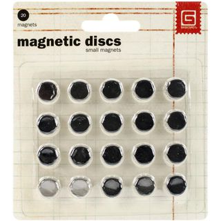 Magnetic discs, small, 20PK