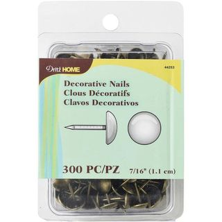 Decorative Nails, 1.11cm, Antique Brass