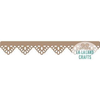 La-la Land Steel Craft Dies, Triange Lace