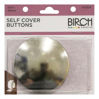 Self Cover Button 64mm, 1pk