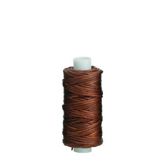 Waxed Polyester Thread, Rust, 22m
