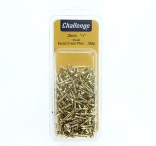 Escutcheon pins 15mm, 100gm