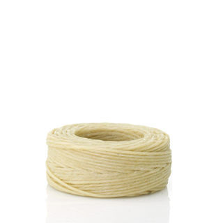Waxed Linen Thread, Natural, 22m