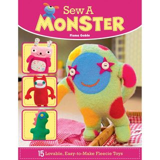Book: Sew a monster, 15 fleece patterns