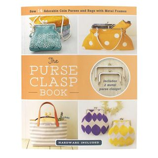 Book: Purse Clasp Book + 2 clasps included