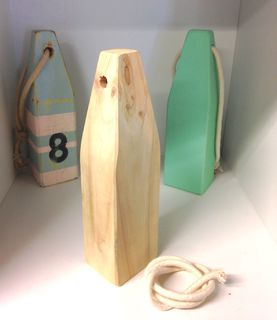 Paint Your Own Wooden Buoy
