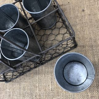 BASKETS, CRATES, BAGS, POTS