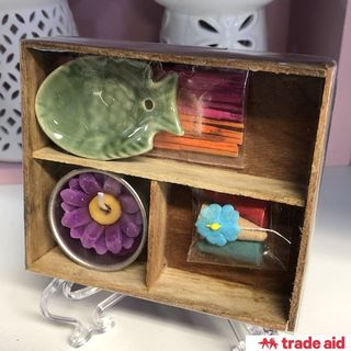 TRADE AID: Mini Incense & Candle Gift Set
