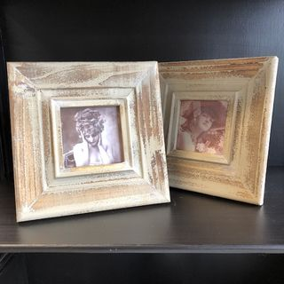 Aged Picture Frame 20cm