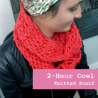FREE 2-Hour Cowl Knitting Pattern
