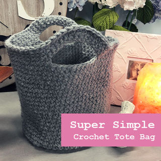 1 Day, 1 Stitch Crochet Tote
