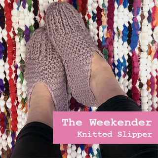 The Weekender, Knitted Slippers