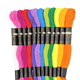 Embroidery Floss, 12PK, Summer