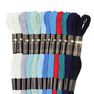 Embroidery Floss, 12PK, Winter