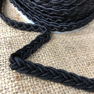 Gimp Braid Black 8mm