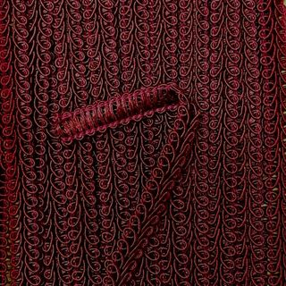 Braid Baby Gimp 8mm Burgundy