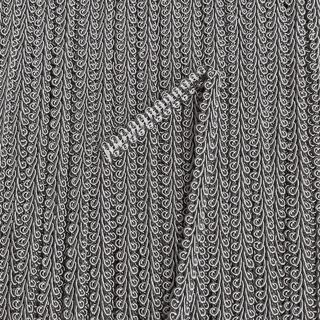 Gimp Braid 6mm Silver Grey
