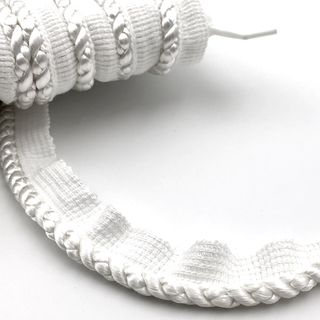 Flanged Cord 7mm White