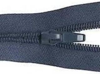 Make-A-Zipper, Navy, Heavy duty