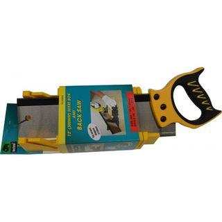 Backsaw with Mitre Box