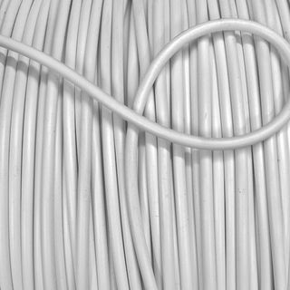 4mm Plastic Piping Cord, White