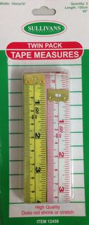 Tape Measure, 2pc