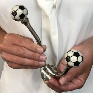 Hook, Ceramic Single Soccer