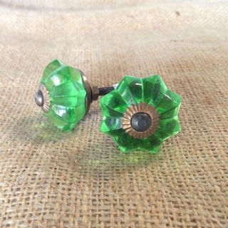 Knob Glass Susana Green