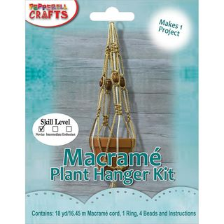 Macrame Pot Plant Hanger Kit