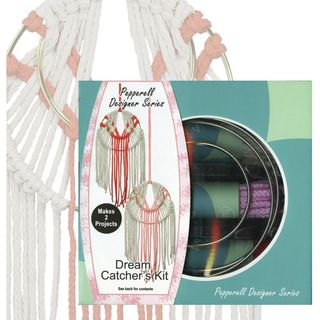 Macrame Dreamcatcher Kit, twin pack