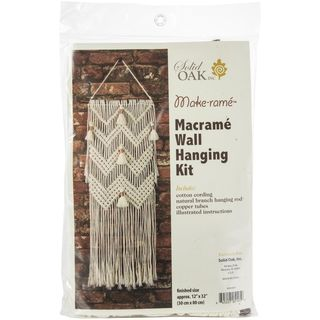 Macrame Kit Chevron & Copper