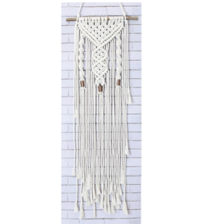 Macrame Wall Hanger Kit, Twists