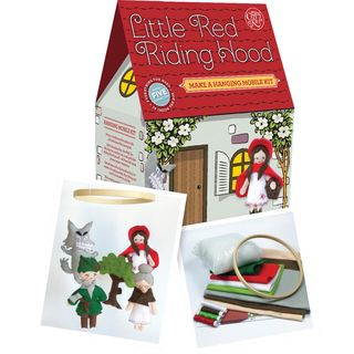 Sewing Kit: Little Red Riding Hood Mobile