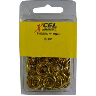 Excel Brass Eyelets, 11.1mm #26
