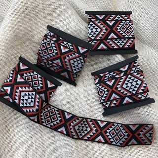 Maori Design Ribbon, 1m length, #01
