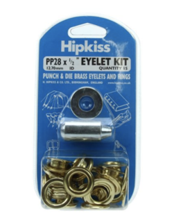 Hipkiss Eyelet Kit, 12.7mm, PP28
