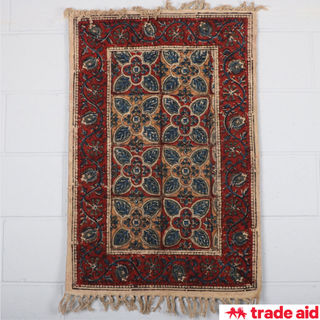 TRADE AID: Floral Rug