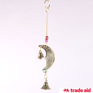 TRADE AID: Moon Bell Hanging