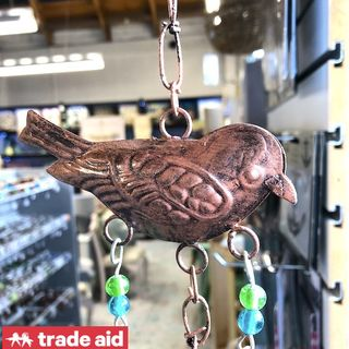 TRADE AID: 3 Tier Bird & Bell Hanging