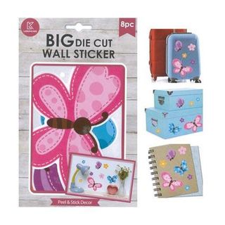 Peel & Stick, Butterflies, 8pk