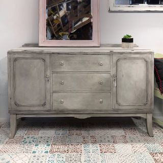 Solid buffet sideboard