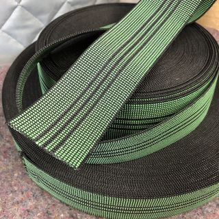 Elastic webbing 3 stripe, 50mm wide