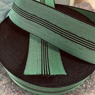 Elastic webbing 4 stripe, 70mm wide