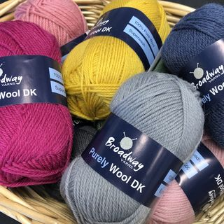 8PLY DK PURELY WOOL