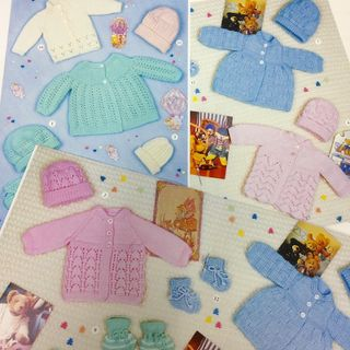 PATTERN: 20 x Prem baby outfits 4PLY