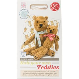 Knitted Teddies Kit