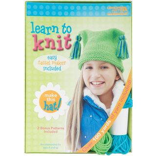 Learn to knit -- Hat Kit